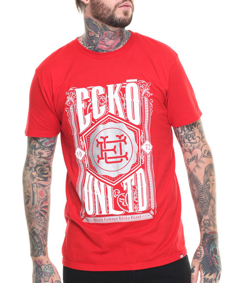 Ur-ID 218316 Ecko - Men Red Crest T-Shirt