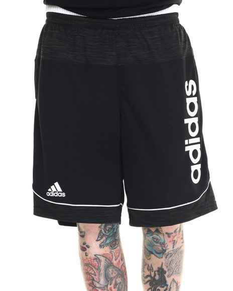 Ur-ID 218323 Adidas - Men Black Future Star Signature Shorts