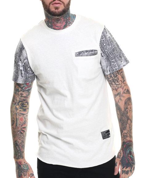 faux print t shirt