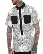 Ecko - Bandanna S/S Button-Down