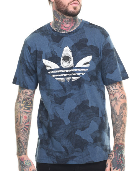 Adidas - Men Blue Sharked Out S/S Tee
