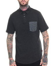 Men - Bandanna Crest Pocket Polo