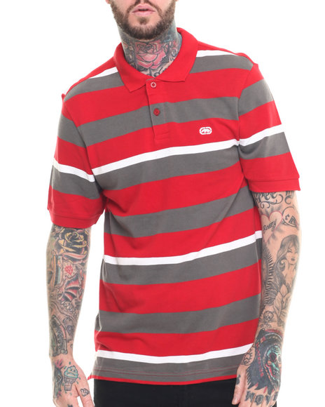 Ecko - Men Red Striped Polo