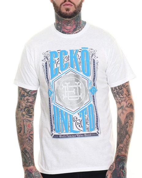 Ecko - Men White Crest T-Shirt - $11.99