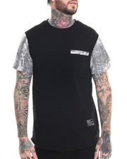 Men - Faux Print T-Shirt