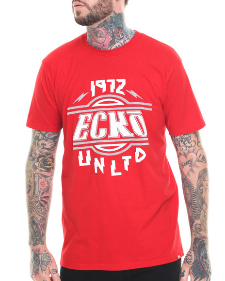 Ecko - Men Red Voltage Graphic T-Shirt