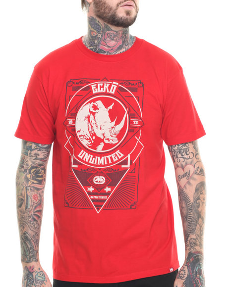 Ecko - Men Red Crest T-Shirt