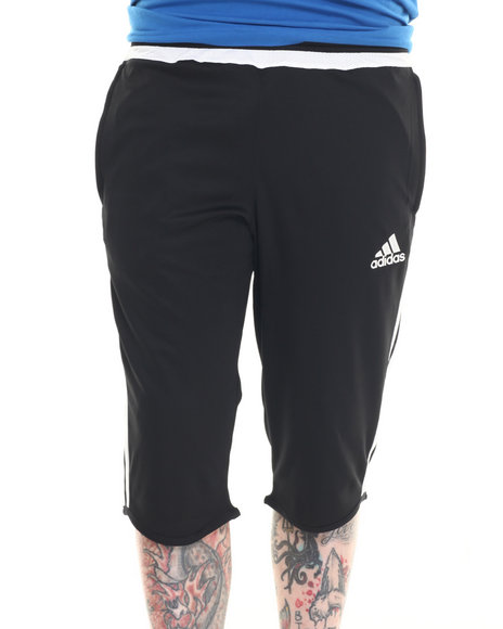 Ur-ID 218317 Adidas - Men Black Tiro 15 Three - Quarter Pant
