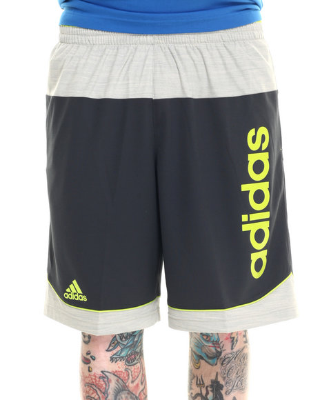 Ur-ID 218332 Adidas - Men Charcoal,Green,Grey Future Star Signature Shorts