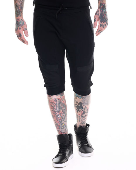 Rocksmith - Men Black Akira Drop Crotch Short