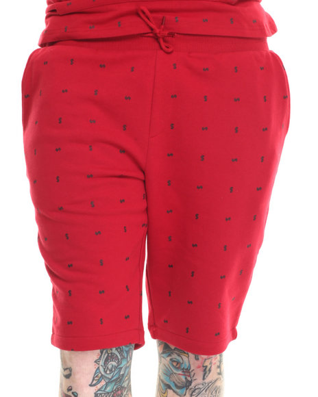 Rocksmith - Men Red Currency Short