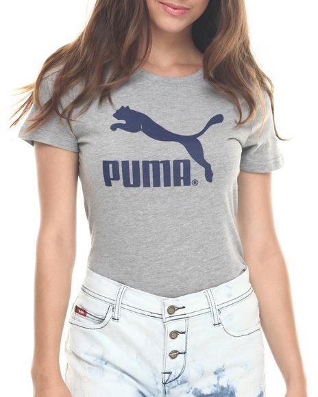 Ur-ID 217933 Puma - Women Grey No. 1 Logo Tee
