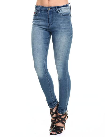 Lee Cooper - Women Blue Janie Skinny Jean