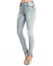 Women - Janie Skinny Distressed Denim