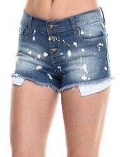Shorts - Splatter Bleach Short