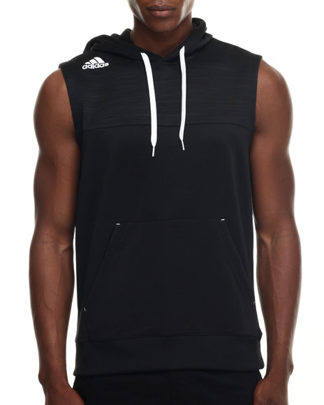 Mens Sleeveless Hoodie Adidas | Fashion Ql