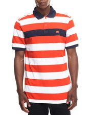 Shirts - Pique Stripe Polo
