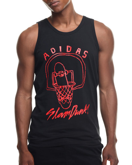 Adidas - Men Black Air Ball Tank
