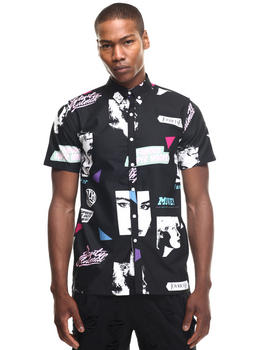 Joyrich - Editorial Map Halfsleeve Shirt