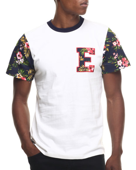 Enyce - Men White North Shore T-Shirt