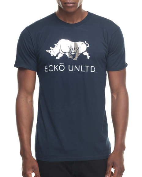 Ecko - Men Navy Core Logo T-Shirt