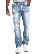 Kilogram - Crazy Paint Denim Jeans