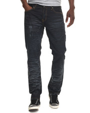 Kilogram - Coated Whrink Denim Jeans