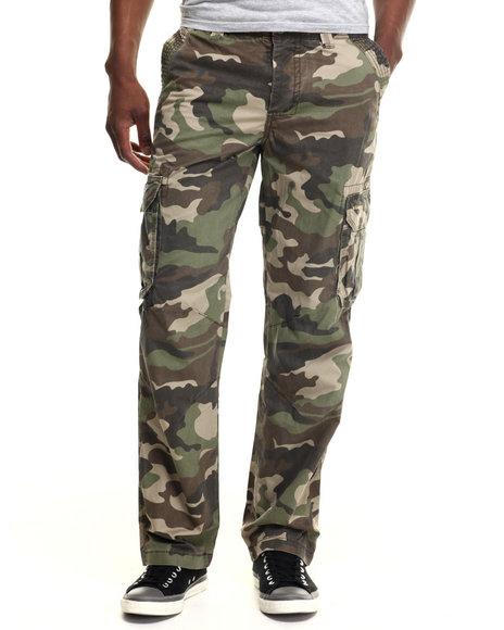 Kilogram - Men Camo K G Cargo Pants
