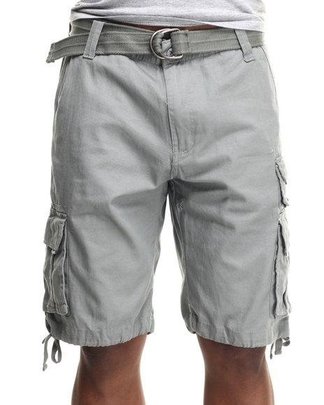 Ecko - Men Grey Twill Cargo Short