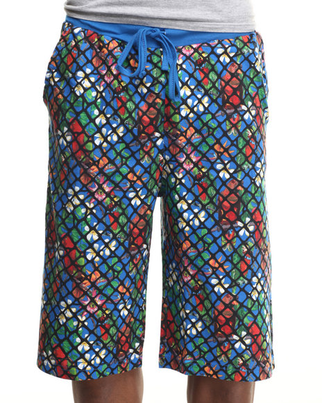 Enyce - Men Blue Cartago Knit Shorts