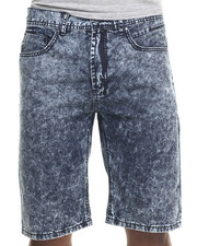 Parish - Acid Wash Denim Short