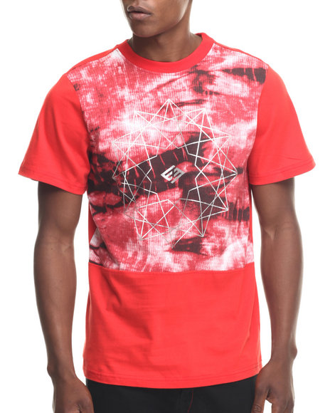 Enyce - Men Red Anguilla T-Shirt
