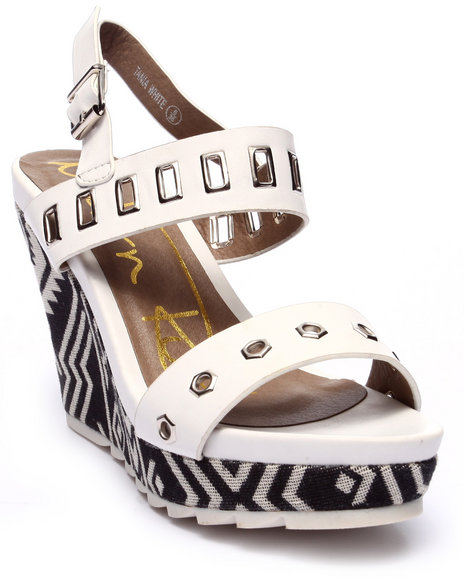 Fashion Lab White Wedges