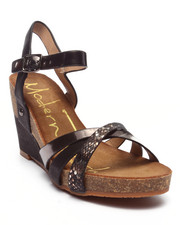 Fashion Lab - Mega Wedge w/Metallic Detail