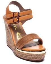 Fashion Lab - Andrea Basic Wedge Sandal