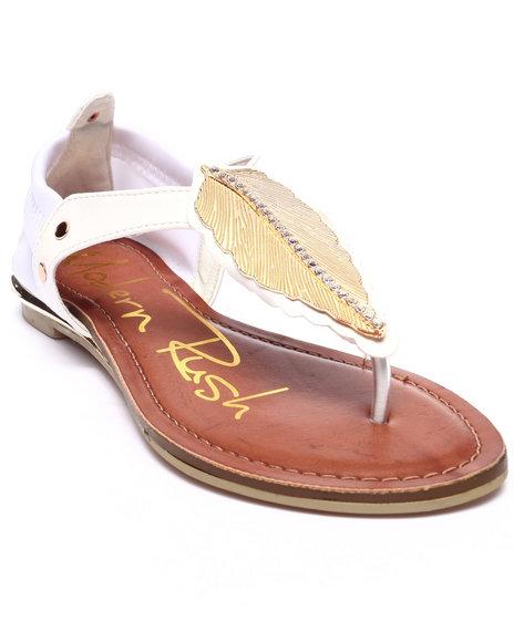 Ur-ID 218545 Fashion Lab - Women White Branch Sandal