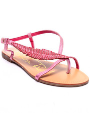 Fashion Lab - Leaf Sandals