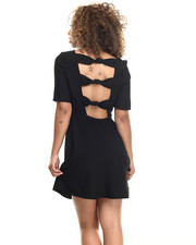 Dresses - Bow Tie Little Black Dress