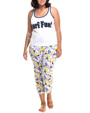 Women - Surf Fun Capri PJ Set
