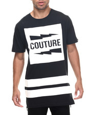 Akademiks - Couture E-longated side zipper s/s tee