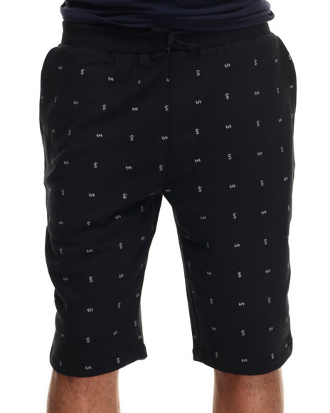 Rocksmith - Men Black Currency Short