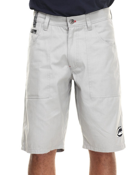 Ecko - Men Grey Canvas Walk Short