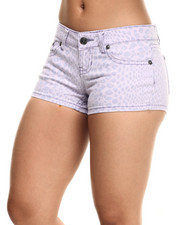 Bottoms - Animal Print Shorts