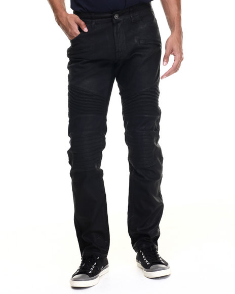 Ur-ID 218630 Hudson NYC - Men Black,Black Street Racin Denim Jeans
