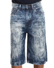 Enyce - Acid Wash Denim Shorts