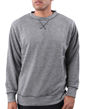 Tops Shop- Men - Heather Crew neck Sweatshirt