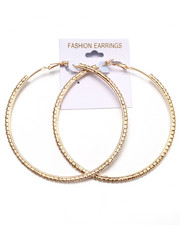 Jewelry - Bling Hoop Earrings