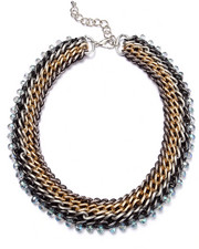 Women - Tri-Color Chains Necklace