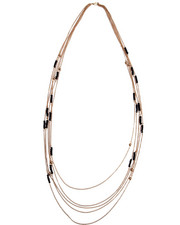 Women - Long Chain w/ Beads Necklace