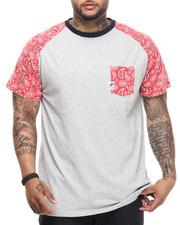 Shirts - Jackson paisley raglan s/s tee (B&T)